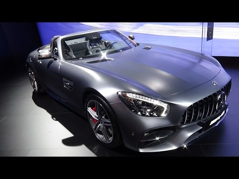 2017 Mercedes-AMG GT C Roadster - Exterior and Interior - Automobile Barcelona 2017