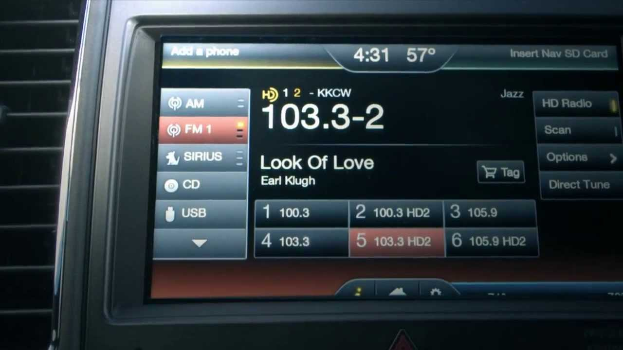 Radio Wallpaper Hd 2014 Ford Sync 174 With Myford Touch 174 W Hd Radio Technology