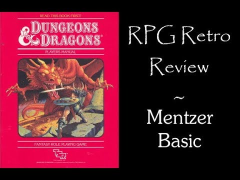 RPG Retro Review: Dungeons and Dragons Basic 1983 (Mentzer)