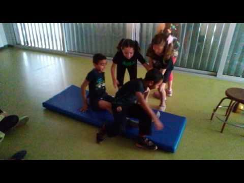 Grup Lilo & Stich (Nora, Diana, Ismael, Suli i Ouahiba)
