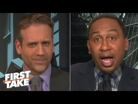 Stephen A. Shuts Down Max's Take On The Patriots Being Better Without Tom Brady | First Take
