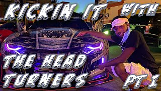 The Ice Breakers Show Meets the Head Turners Car Club