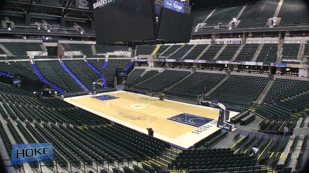 Bankers Life Fieldhouse Timelapse Youtube