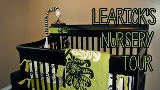 Learick's Nursery Tour! Unisex Crib Bedding