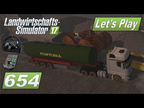 LS17 #654 Diesel für die Kies Produktion #Lets Play Landwirtschafts Simulator 2017 4fach mod map #HD