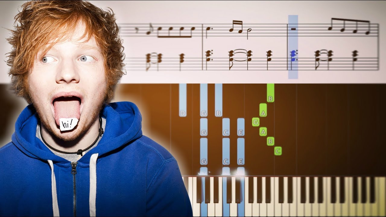 This ed sheeran guitar chords