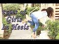 Types of girls in heels