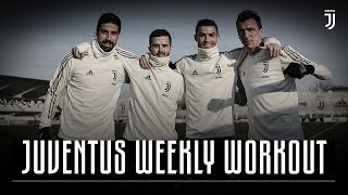Getting ready for Roma | Juventus Weekly Workout