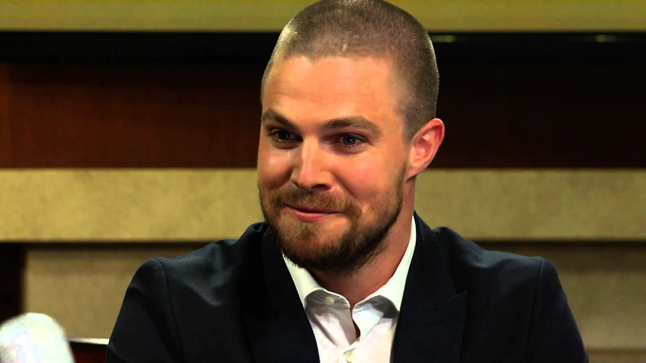 Actor Stephen Amell Addresses Fifty Shades Of Grey