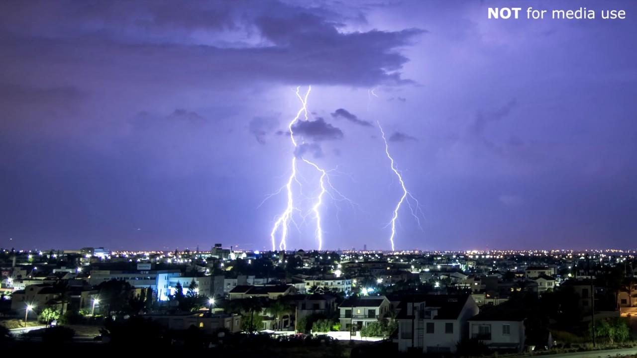 Η μαγεία των καιρικών φαινομένων στην Κύπρο ⚡️