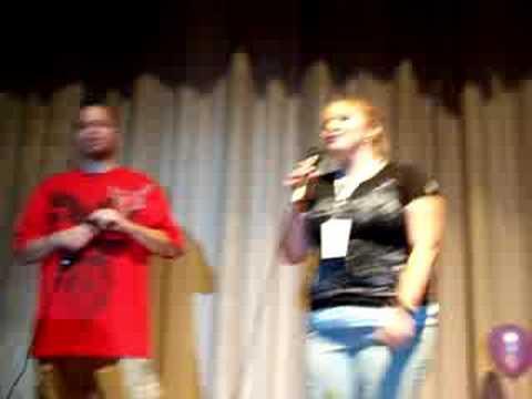 Joan and Marty Duet Karaoke