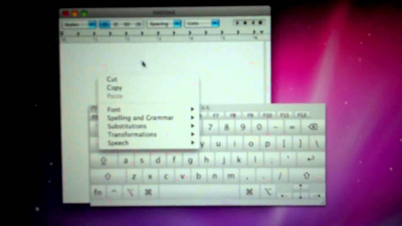 Macbook Keyboard Problem Youtube