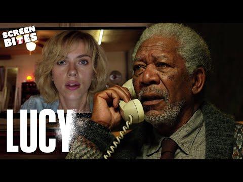 Lucy | Professor Norman meets Lucy | Scarlett Johansson & Morgan Freeman
