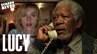 Professor Norman meets Lucy | Lucy | SceneScreen