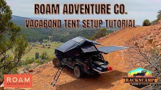 ROAM Vagabond COMPLETE tent setup tutorial