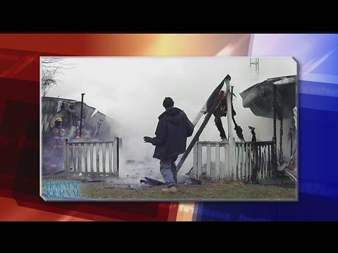 Calcutta trailer fire under investigation