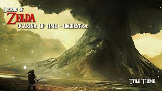 Legend of Zelda Ocarina of Time Orchestra - Title Theme