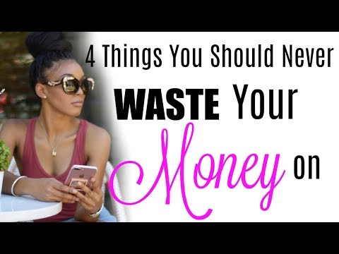 Things you should NEVER BUY or waste your money on !!! Brittany Daniel