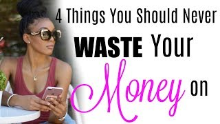 Things you should NEVER BUY or waste your money on !!!| Brittany Daniel