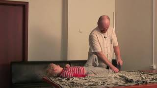 Палсинг детям. Детский массаж без боли.
