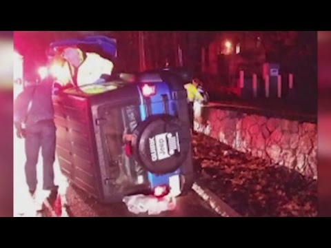 Patriots Vince Wilfork saves woman in overturned car