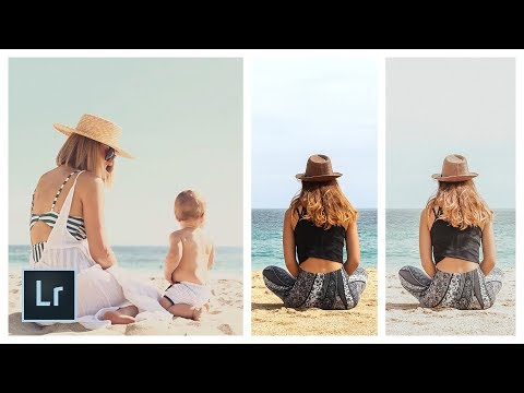 Lauren Conrad (@laurenconrad) Sommer Strand Instagram Look / Filter - Adobe Lightroom Tutorial thumbnail