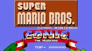 Super Mario Bros. with Sonic's sounds