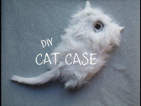 DIY: Fluffy/Furry Cat Phone Case