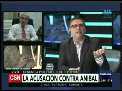 C5N - Minuto Uno: La acusacion contra Anibal Fernandez (Parte  2)
