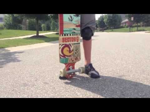 How to slide on a longboard for beginners