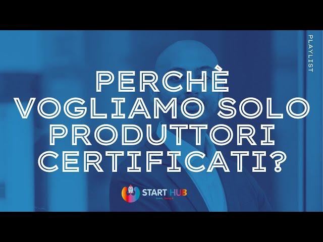 Produttori certificati