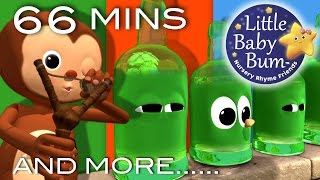 Ten Green Bottles | And More Nursery Rhymes | From LittleBabyBum