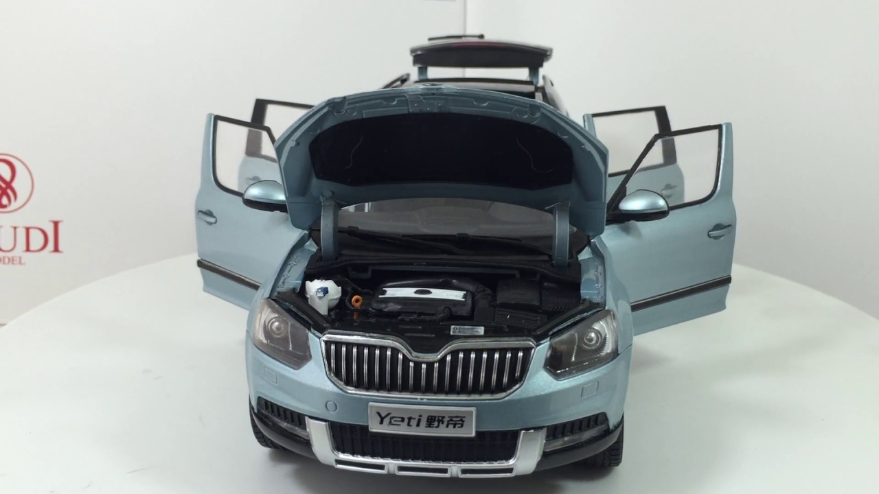paudi model 1 18 scale skoda yeti 2013 diecast model car. Black Bedroom Furniture Sets. Home Design Ideas