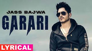 Garari | Full Video | Jass Bajwa | Urban Zimidar | Gupz Sehra | Lally Mundi | Latest Song 2018