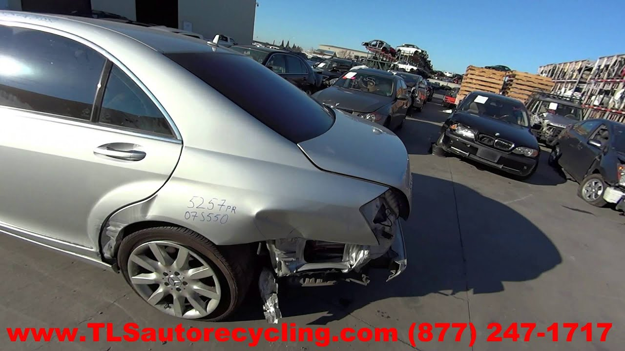 2007 Mercedes Benz S550 Parts For Sale 1 Year Warranty