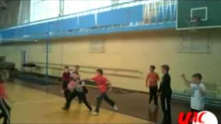 Тренировка секции легкой атлетики в Северодонецке(Еще больше видео Лисичанск, Северодонецк, Рубежное на сайте http://vchaspik.ua., 2012-11-09T06:43:40.000Z)