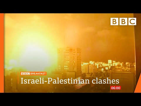 Download Rockets pound Israel after militants killed - Israel-Gaza @BBC News live 🔴 BBC
