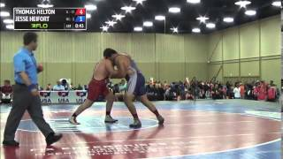 285 f, Jesse Heifort, Minnesota vs Thomas Helton, Illinois