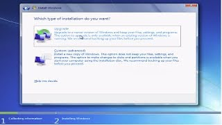 How to Install Windows 7 From a CD or DVD Tutorial Guide Walkthrough