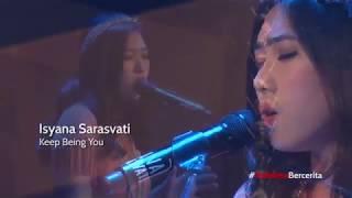Isyana Sarasvati - Keep being you (live) at Ciputra Artpreneur