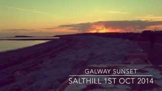 Galway sunset time-lapse by Cathal Feeney