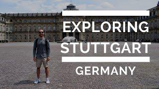 Taking in Stuttgart, Germany & Hohenzollern Castle | TnT Travel Vlog 01