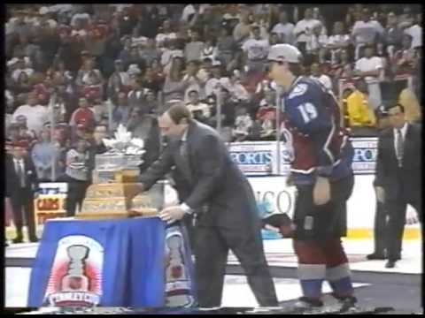 1996 Closing Conn Smythe and Stanley Cup Presentation.