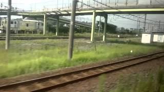 Narita Express (N'EX) from Narita Airport to Tokyo 成田エクスプレス