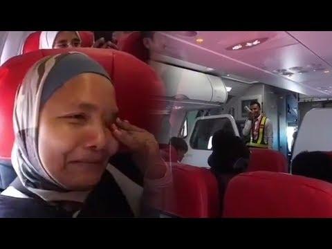 Momen Haru Turis Malaysia Korban Gempa Lombok Dipulangkan, Penumpang Menangis Dengar Pesan Pramugara