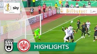 SSV Ulm - Eintracht Frankfurt 2:1   Highlights DFB-Pokal 2018/19 - 1. Runde