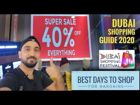 Best time for shopping in Dubai | Dubai Shopping Festival 2020 | Dubai Super Sale | The Dubai Mall