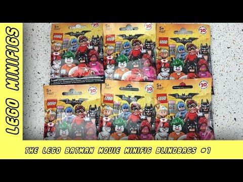 Lego Batman Movie MiniFig Blind Bag Opening | Paddy & Jo Toys