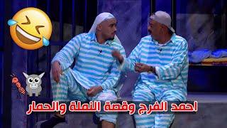 احمد الفرج وقصة النملة والحمار |  مبارك المانع