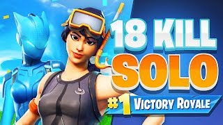 HOW To Get High Kill SOLO WINS - Fortnite Battle Royale
